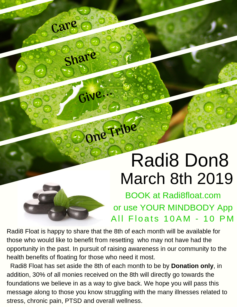 Radi8 Don8 March 8th