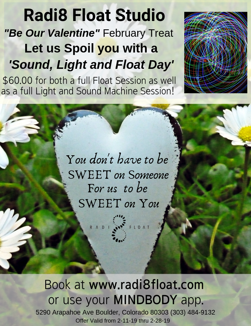 BE OUR VALENTINE- Let Radi8 Spoil YOU!